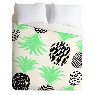 East Urban Home Pineapples Duvet Cover Set