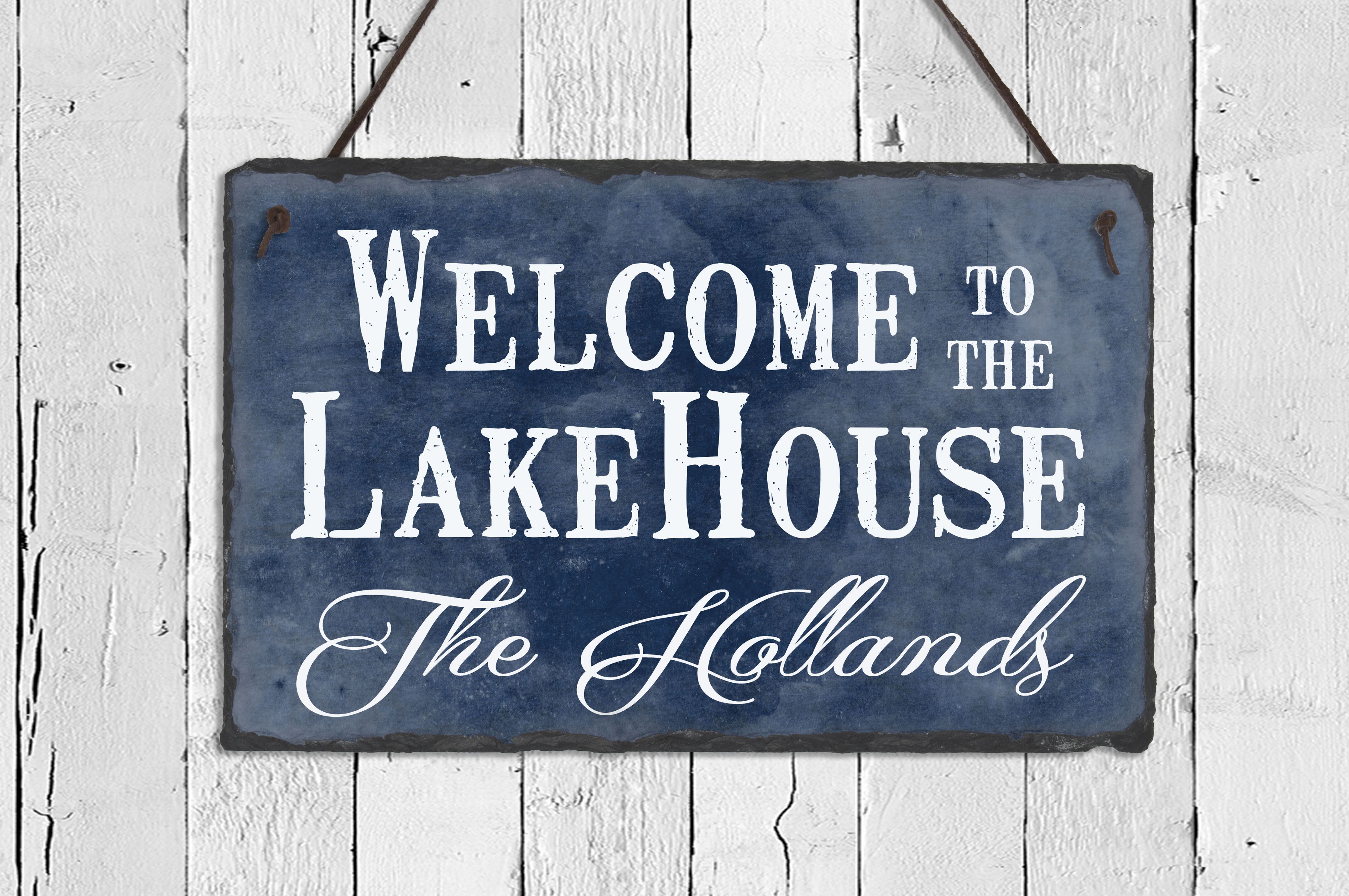 SassySquirrelInk Welcome To The Lake House Wall Décor | Wayfair