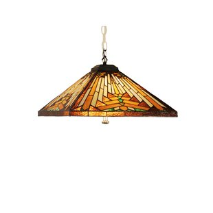 Meyda Tiffany Mission Arts and Crafts Southwest Nuevo 4-Light Pool Table Light