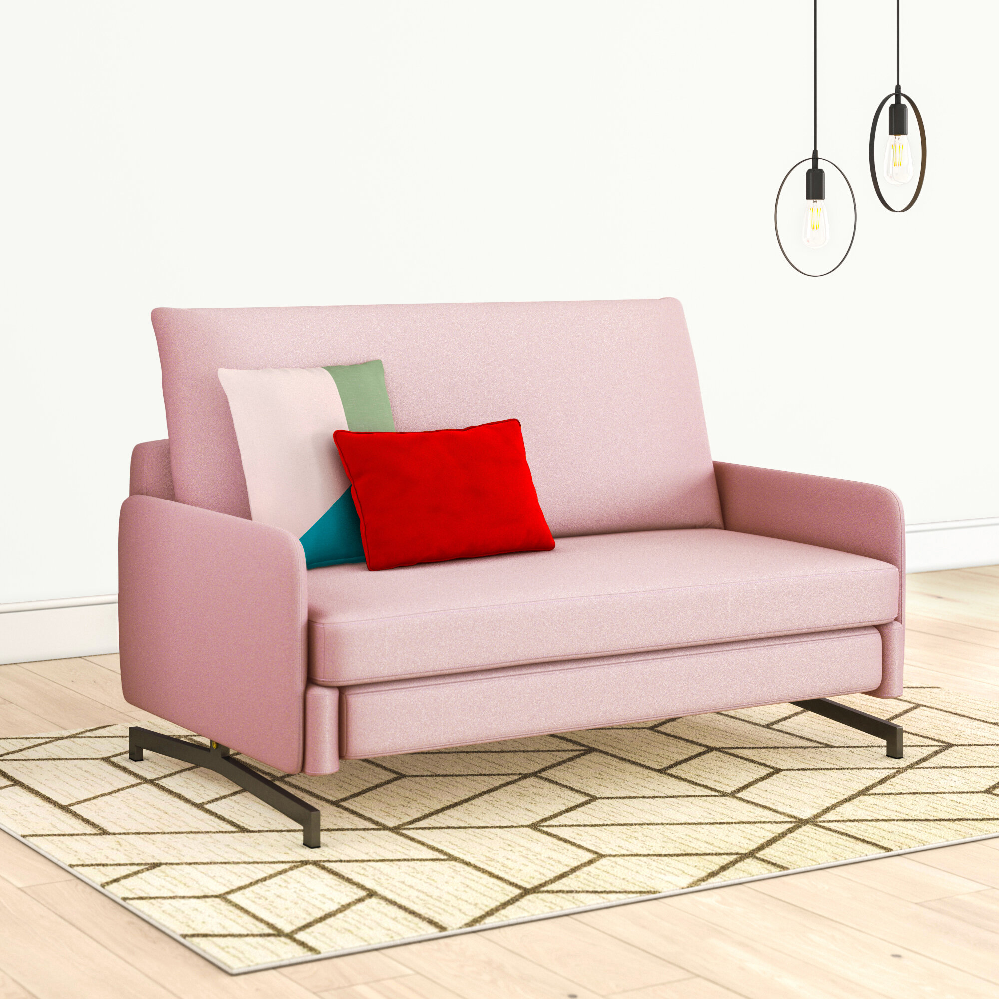 Delano 2 Seater Fold Out Sofa Bed