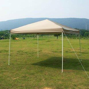 Naturefun 10 Ft. W x 10 Ft. D Steel Pop-Up Canopy