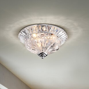 House of Hampton Mckain 3-Light Flush Mount