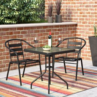 Giffin 3 Piece Bistro Set