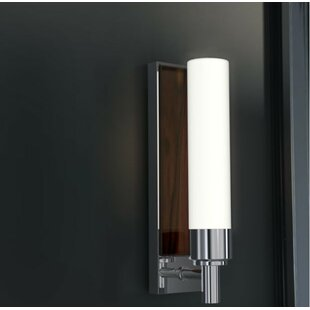 1-Light Plug-In Armed Sconce by Robern