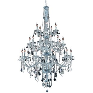 Petties 25-Light Candle Style Chandelier