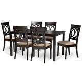 Rolla 7 - Piece Dining Set (Set of 7) by Alcott Hill®