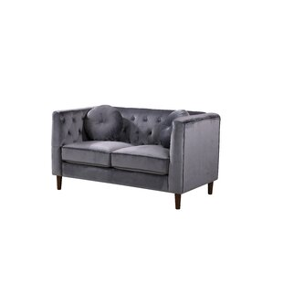 Gladiolus Chesterfield Loveseat