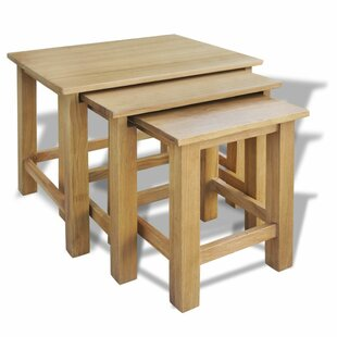Charlton Home Abbot 3 Piece Nesting Tables