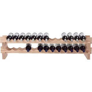 26 Bottle Tabletop Wine Rack by Wine Enth..