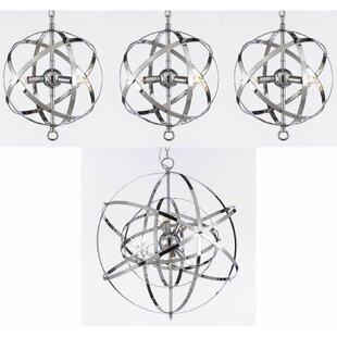 Firebaugh Globe Pendant by Brayden Studio