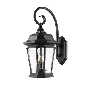 Bibb 3-Light Outdoor Wall Lantern by Fleu..