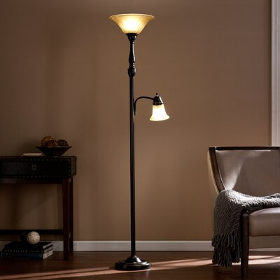 "Laplant 71.5"" Torchiere Floor Lamp"