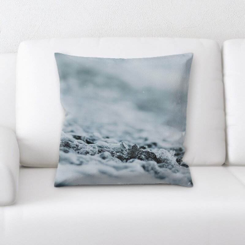 East Urban Home Blurred Out Throw Pillow Wayfair
