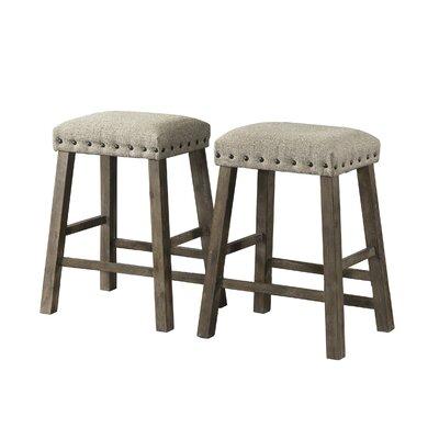 Incredible Gracie Oaks Schweitzer 24 Bar Stool Cjindustries Chair Design For Home Cjindustriesco