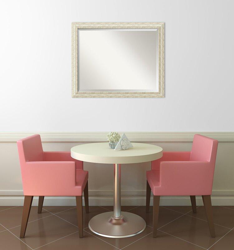 Large Rectangular Wall Mirror rosecliff heights rectangle large wall mirror & reviews | wayfair