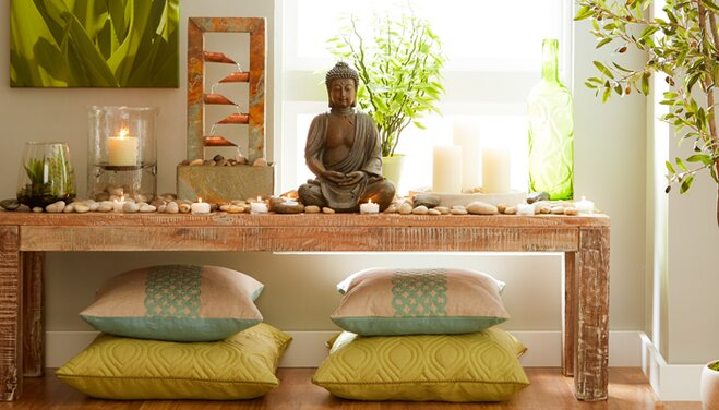 home meditation room