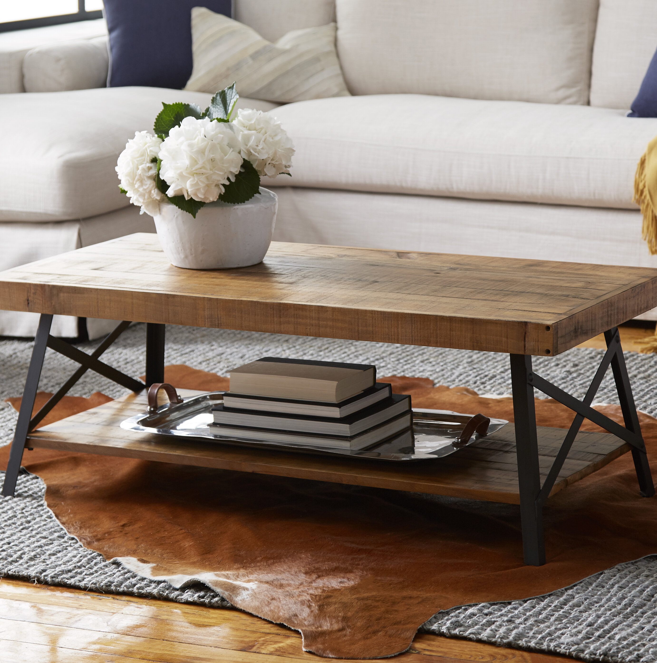 Brilliant Farmhouse Rustic Coffee Tables Birch Lane Download Free Architecture Designs Scobabritishbridgeorg