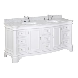 Katherine 72 Double Bathroom Vanity Set by Kitchen Bath Collection