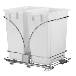 Glidez 9 Gallon Pull Out Trash Can