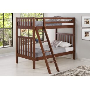 Clearance Crescent Twin Bunk Bed by Harriet Bee Reviews (2019) & Buyer's Guide