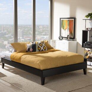 Review Saturn Upholstered Bed Frame