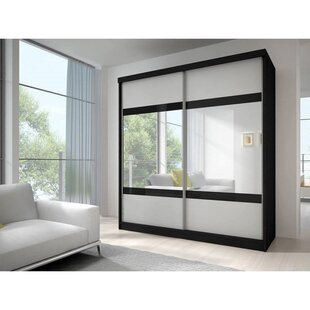 Gulledge 2 Door Sliding Wardrobe By Mercury Row