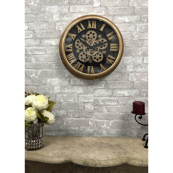 Williston Forge Jace 18 Wall Clock Wayfair