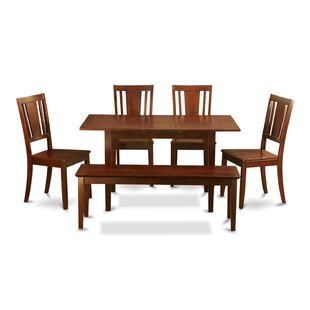 Balfor 6 Piece Extendable Dining Set