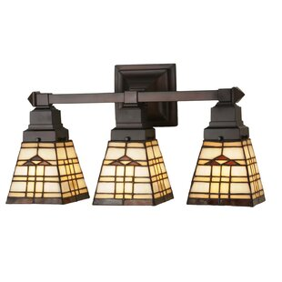 Meyda Tiffany Arrowhead Mission 3-Light Vanity Light