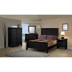 Black King Size Bedroom Sets black bedroom sets you'll love | wayfair