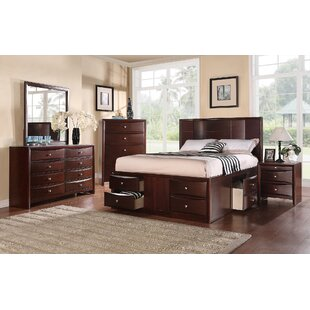 Ebern Designs Baxter Platform Configurable Bedroom Set