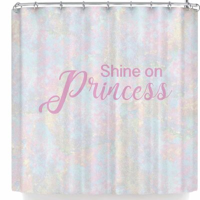 Nl Designs Shine On Princess Opal Shower Curtain