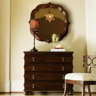 Royal Kahala 4 Drawer Dresser with Mirror