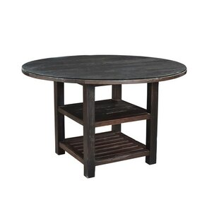 Alexander Solid Wood Dining Table Loon Peak