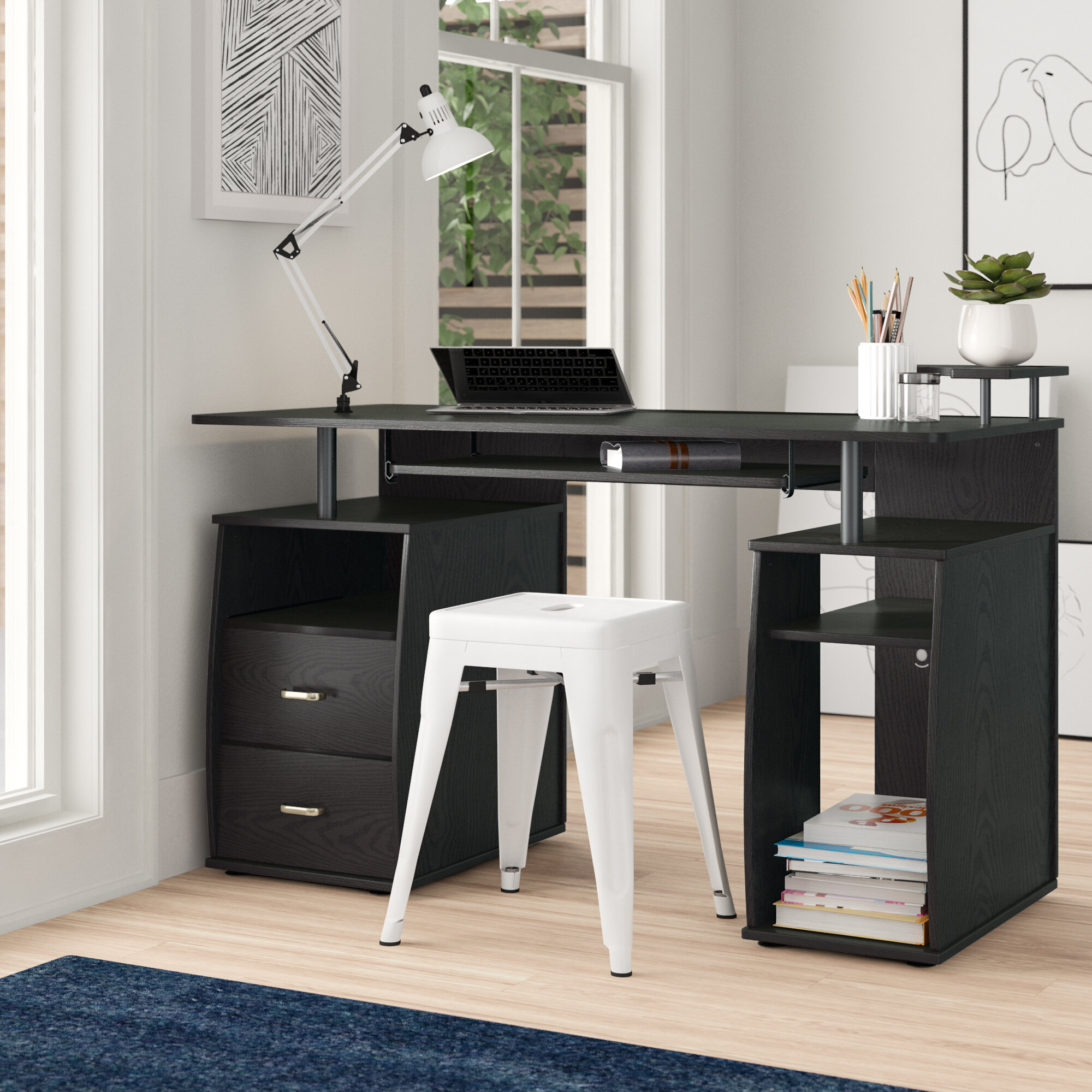 Computer Keyboard Tray Desks You Ll Love In 2020 Wayfair