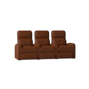 Latitude Run Tufted Home Theater Row Seating (Row of 3)