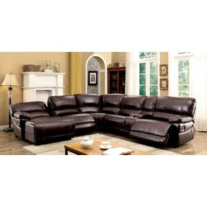 Newmont Reversible Reclining Sectional by Al..