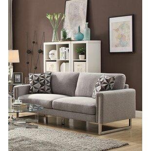 Roselyn U- Shaped Steel Legs Configurable Living Room Set