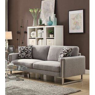 Great Price Roselyn U-Shaped Steel Legs Sofa by Brayden Studio Reviews (2019) & Buyer's Guide
