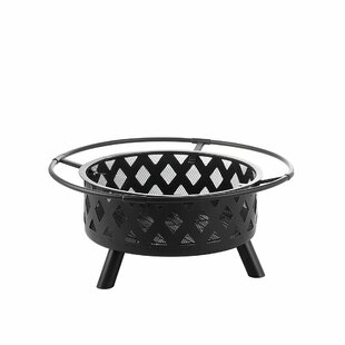 Maisonet Steel Charcoal Fire Pit By Sol 72 Outdoor