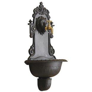 Cothran Cast Iron Wall Fountain By Astoria Grand
