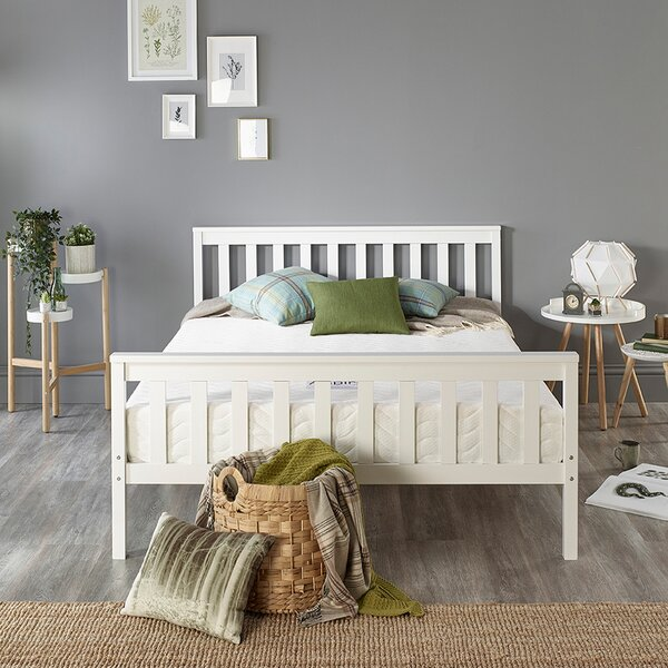 DIY Pallet Canopy Bed   For the Home   Pinterest   I am