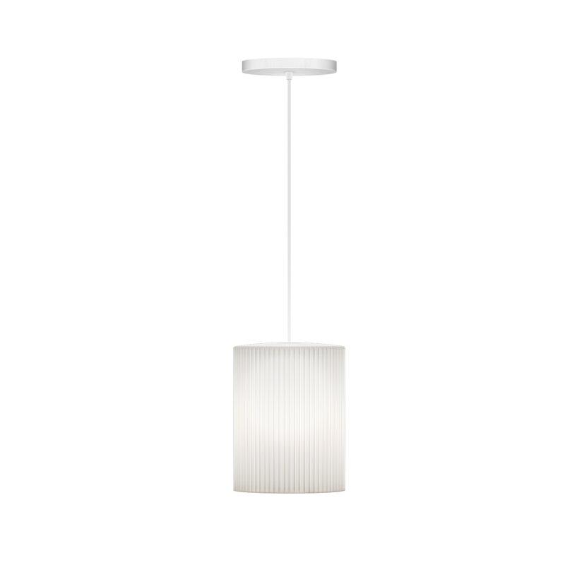 Wrought Studio  Manis Cusp 1-Light Hardwired Mini Pendant Cord/Cable Finish: White