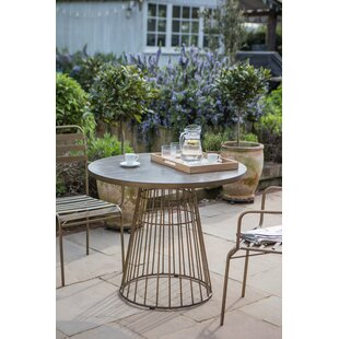 Reynolds Metal Bistro Table By Canora Grey