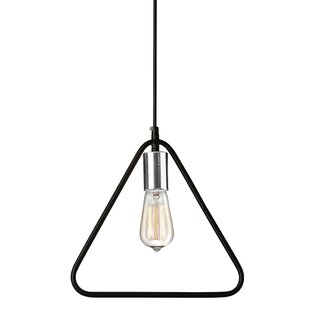 Wrought Studio Ridge 1-Light Bulb Pendant