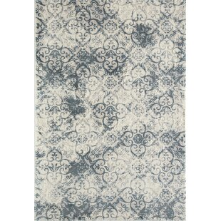 Inexpensive Renaissance Blue Area Rug By House of Hampton