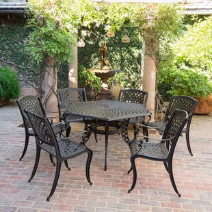 Darby Home Co Belmont 7 Piece Dining Set
