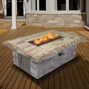 Cal Flame Cultured Stone Dinin..