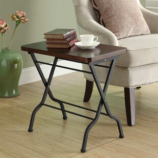 Buy clear Folding End Table By Monarch Specialties Inc.