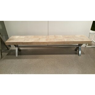Woodside Metal Bench